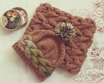 "Handmade set ""Pistachio and Chocolate"""