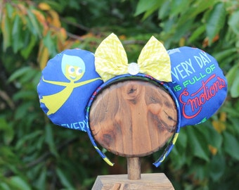 Inside Out Mickey Mouse Ears