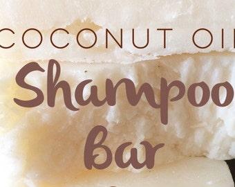4 oz. Organic Coconut Oil Shampoo Bar
