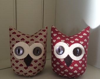 Handmade Owl Shelf Sitter/Ornament