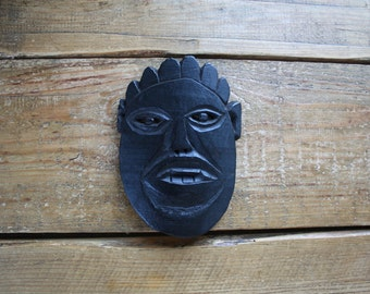 WOODEN NEPALESE MASK