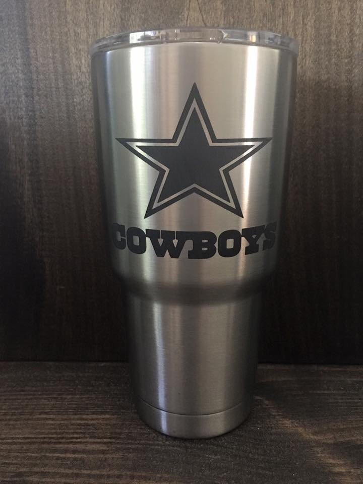 Custom Engraved Yeti Tumblers 30oz By Theklecksetchings On