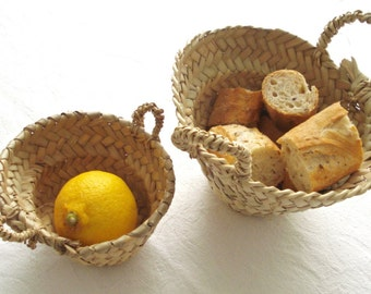 Mini basket - hand made