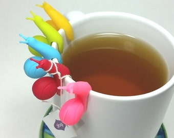 Snail Tea Bag Holders - Set of 5
