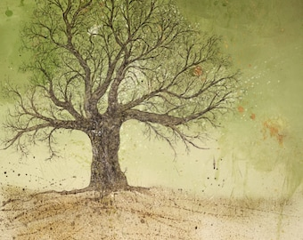 Fathers Tree limited edition giclee print, 11/50