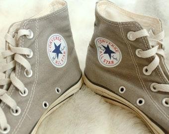 Grey High Top Converse 8
