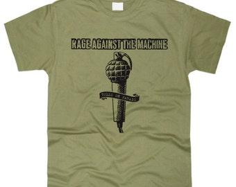 Rage Against The Machine Men T-Shirt