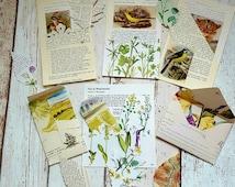 Journal Embellishment Kit , Scrapbook Envelopes , Journal Pockets , Junk Journal Tags , Vintage Paper Die Cuts