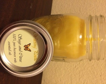 16 Ounce - 100% Pure Beeswax Candle