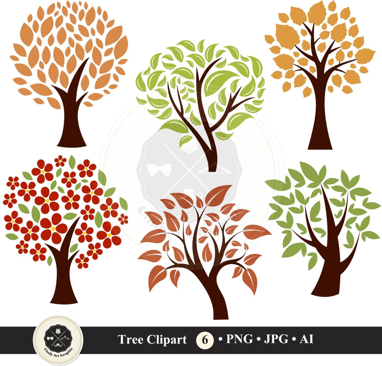 Tree Clip Art,diy family tree clipart, tree clipart ...