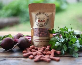 Beetroot & Parsley healthy dog treats