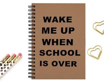 Kraft Notebook, Journal, Gift, , Diary, Planner