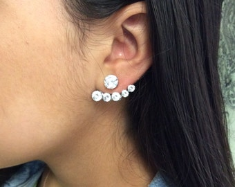 Stainless Steel Earring with jacket