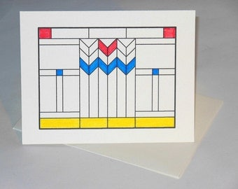 3-Stained Glass Cards - Blank Inside