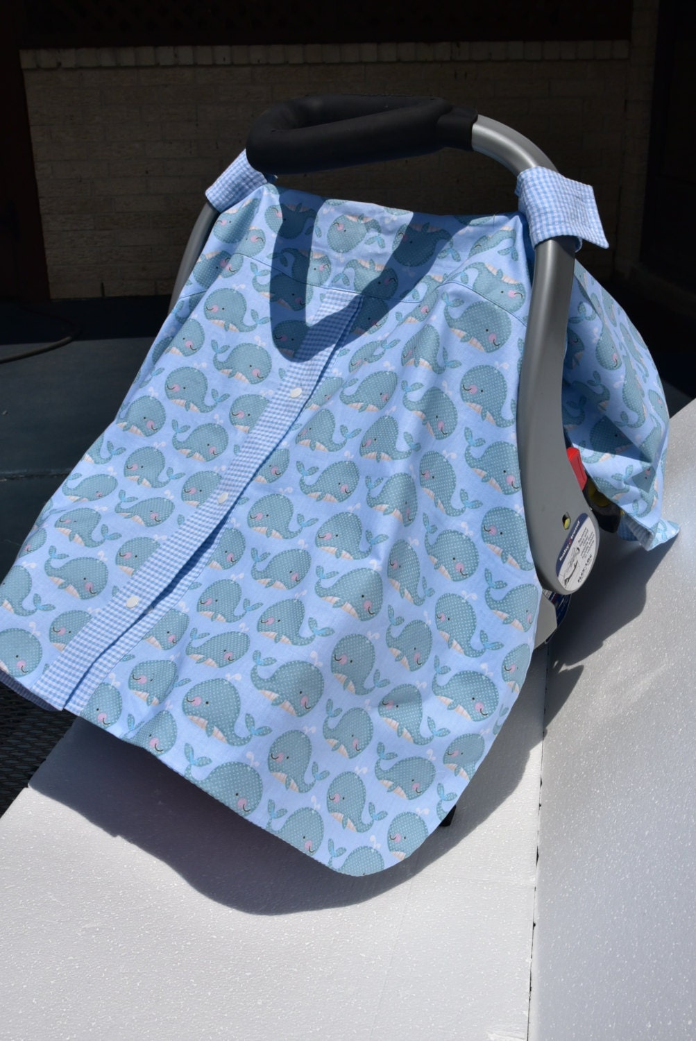 car seat cover for baby boy blue car seat cover snap. Black Bedroom Furniture Sets. Home Design Ideas