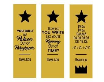 Hamilton Bookmark Set!