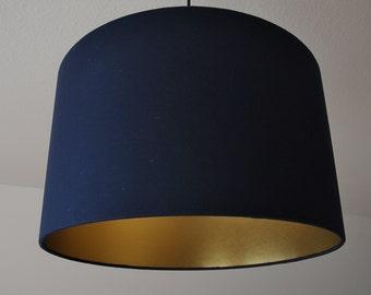 """Lampshade """"Gold-Navy"""""""