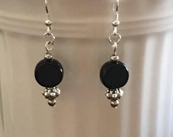 Jewelry, Jet Black earrings