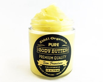 Ziddl Organic Body Butter - Manage Playa Foot at Burning Man!