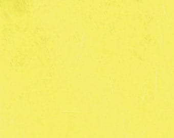 "Pack of 5 sheets of rice paper to decoupage color ""yellow"", gr 16 cm 64x94."