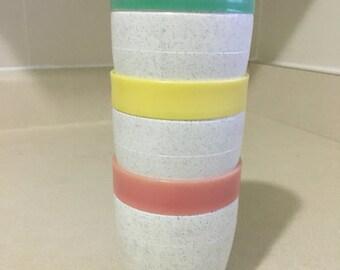 Retro Cornish Plastic Juice Cups