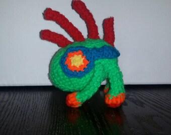 Murky the Murloc Crochet Amigurumi