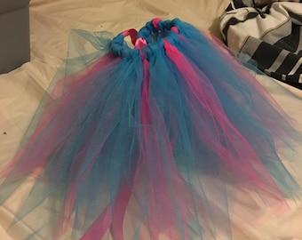 Pink and blue toddler/baby tutu