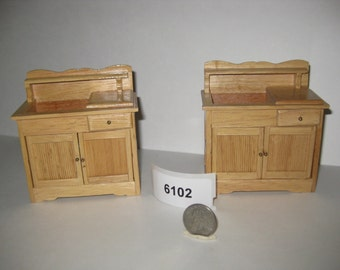Two kitchen sink cabinets 6102