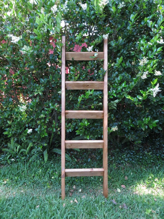 rustic shelf ladder 6 ft rustic leaning shelf ladder shelf wood leaning ladder 11834