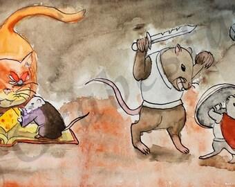 Mice & Mystics (Draw For Initiative)