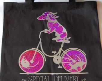 Special Delivery Canvas Bag