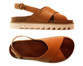 Women's Leather sandals -Handmade sandals