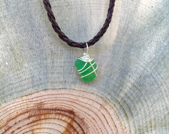 Sea Glass Necklace | California Vibes