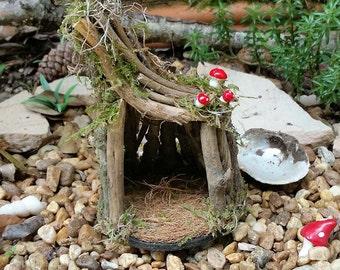 Fairy Garden House, Fairy Garden House, Fairy House, Terrarium House, Gnome  House
