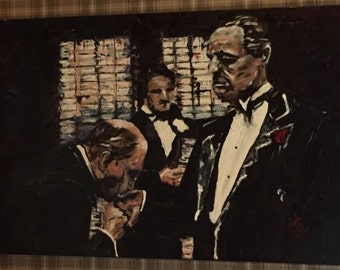 Commissioned painting The Godfather