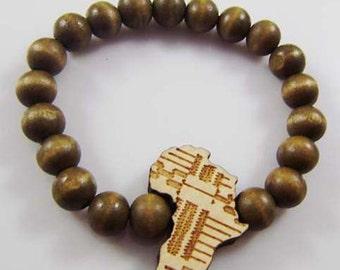 Wooden Motherland Bracelet