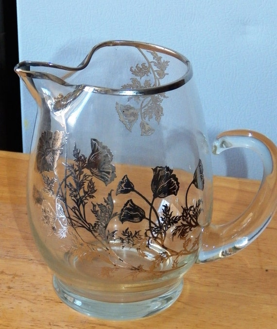 Antique Crystal Pitchers With Handle | David Simchi-Levi