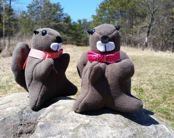 Beaver Plushie | Adorable Stuffed Animal for Canadians | Kid Friendly Stuffed Animal Toy