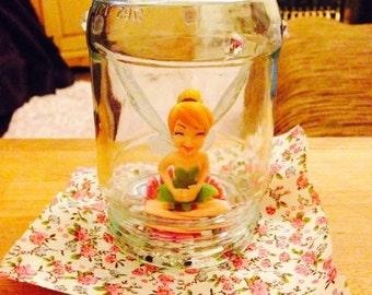 Fairy caught in a jar