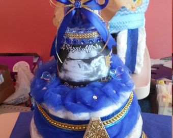 Royal Prince Diaper Cake