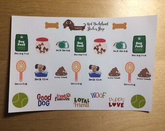 Dog stuff planner sticker