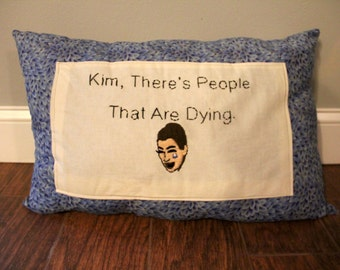 Custom Kim K Pillow