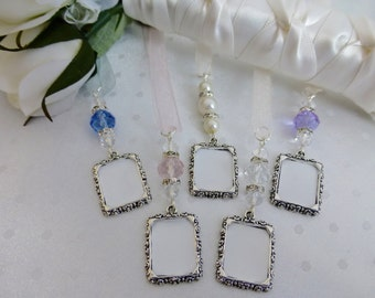 Bridal Photo Memory Charm Frame