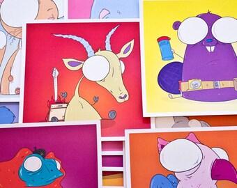 Creepy Animal Print (Second Series)