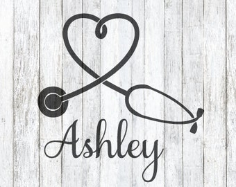Heart Stethoscope SVG