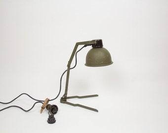 Army lamp vintage
