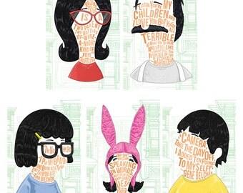 Famous Hair/Lines Belcher Family Pack