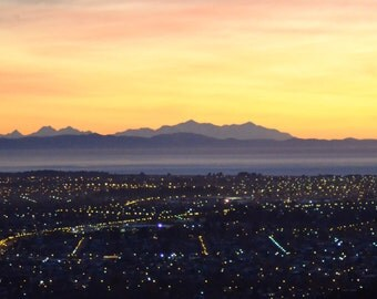 Christchurch at sunset
