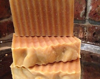 Lemongrass Peppermint Goats Milk all natural handcrafted soap
