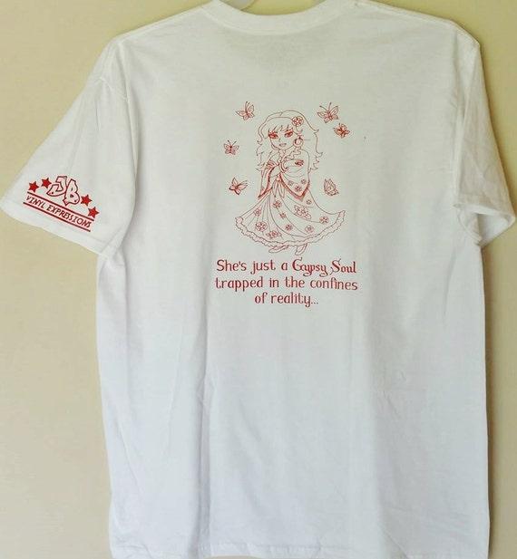 Gypsy Soul Custom Order T Shirt Vinyl Small By
